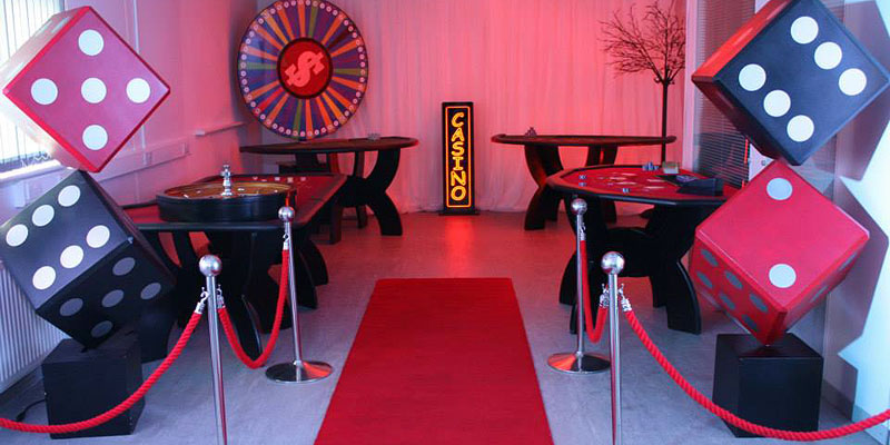 casino prop hire cornwall